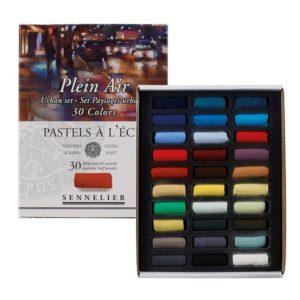 Sennelier 'Urban' Extra Soft Half Pastels set of 30