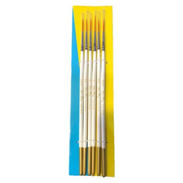 6pc Rigger Brush Set