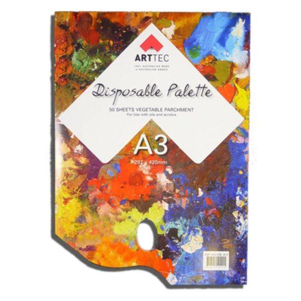 A3 Disposable Palette Arttec