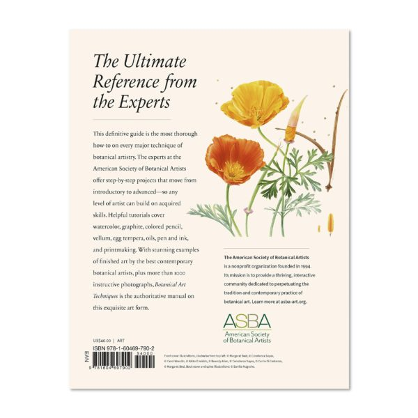 Botanical Art Techniques Back Cover