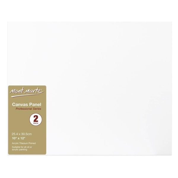CMPL2530 Canvas Panel 10 x 12in 2pk