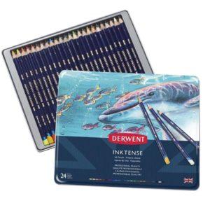Derwent Inktense Pencils tin 24
