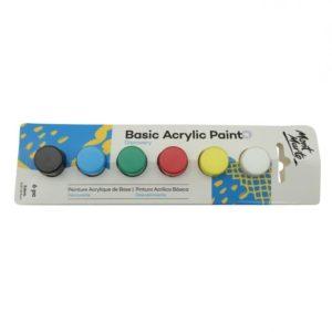 Mont Marte Basic Acrylic Paint Set Primary