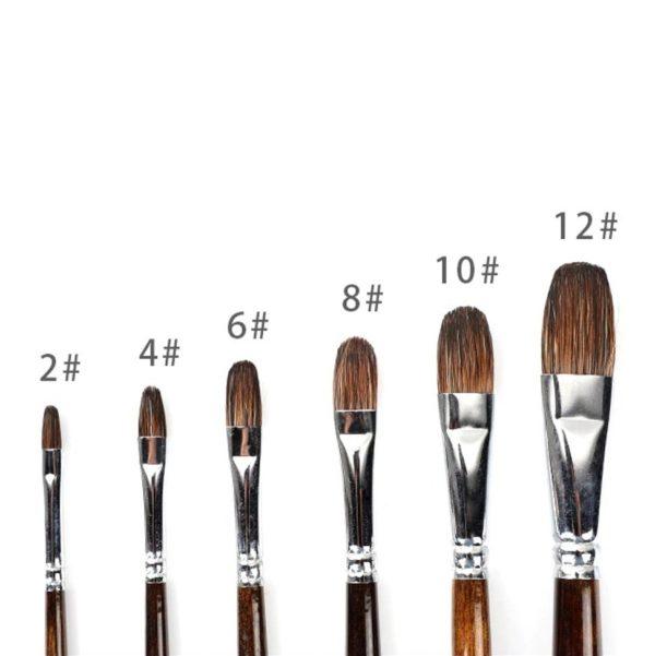 Watercolour Filbert Brush
