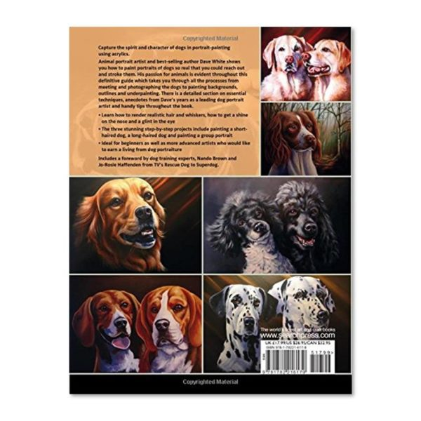painting dog portraits back cover