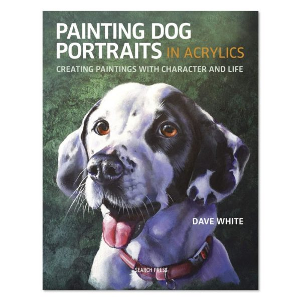 painting dog portraits in acrylics cover