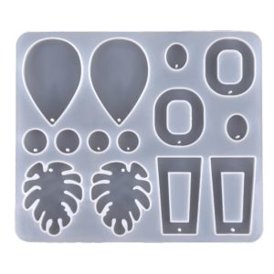 Earring Resin Silicone Mold 3