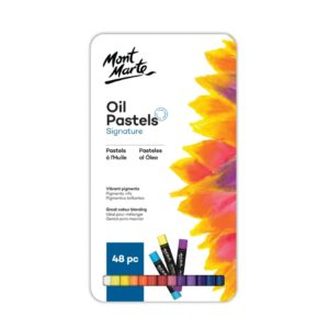 Oil Pastels 48pc in tin