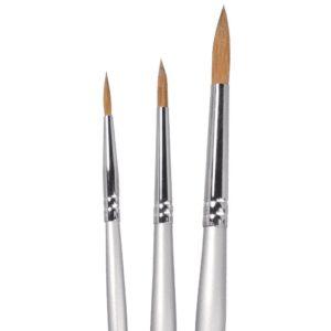 NAM sable round brushes