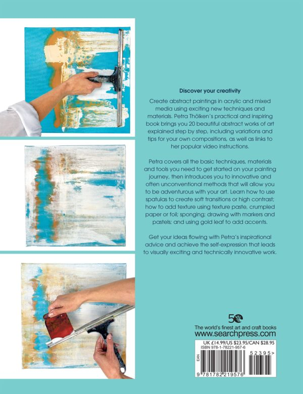 Abstract Painting Back Cover