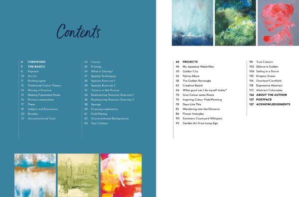 Abstract Painting Contents