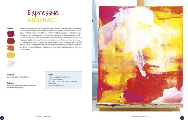 Abstract painting p120-121
